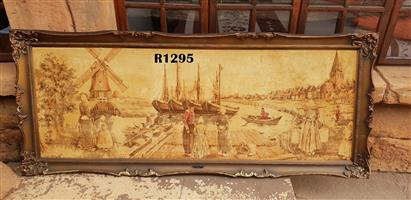 Massive Antique Holland Tapestry (1855x780)