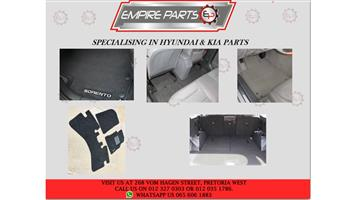 HYUNDAI & KIA FACTORY FITTED CARPERTS (used)