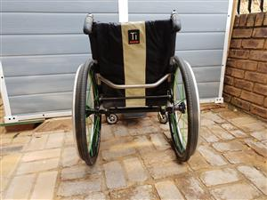 TiLite ZRA Series 2 Titanium Rigid Frame Wheelchair