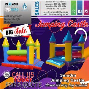Jumping castle (big sale )