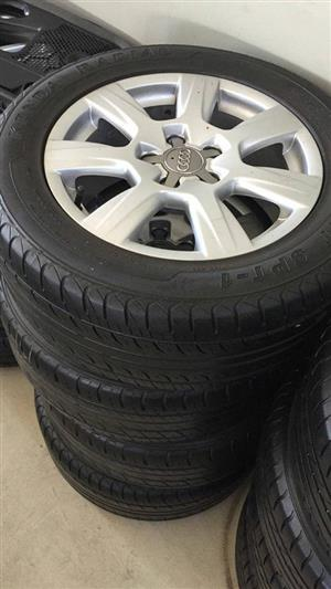 CLASSIC AUDI RIMS AND TYRES FOR SALE