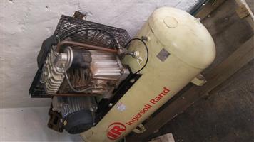 270 litre Ingersoll Rand air compressor