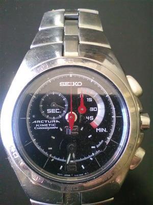 Seiko Arctura Kinetic Chronograph