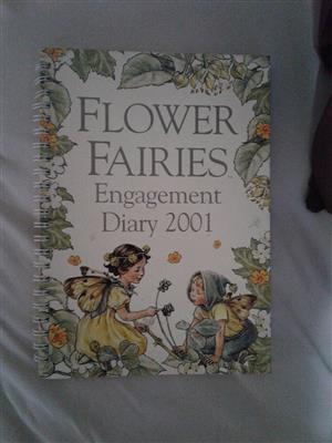 Flower fairies engagement diary 2001