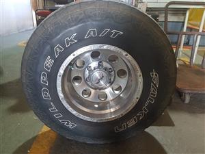 Mag rim & tire