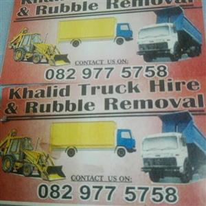 KHALID TRUCK HIRE AND RUBBLE REMOVAL