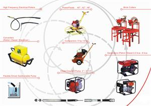 Rammers, Rollers, Pokers, Plate Compactors - Small Plant Construction Equipment Experts.