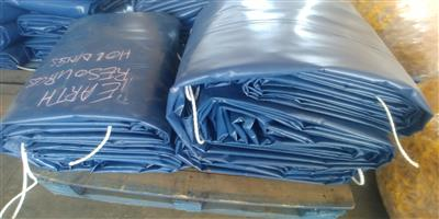 Quality truck covers/tarpaulins and cargo nets for super-link and tri_axle readily available
