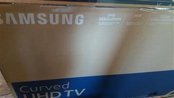 "55 "" Samsung UHD Curved Tv"