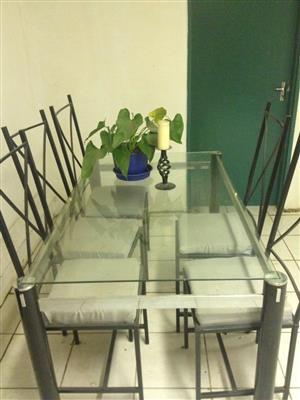 Wrought Iron Dining Set