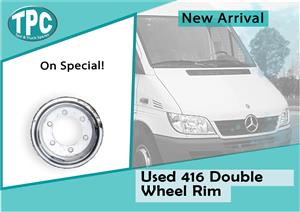 Mercedes Benz Sprinter 416 Used Double Wheel Rim For Sale at TPC