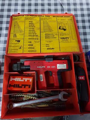 Hilti piston drive tool for sale