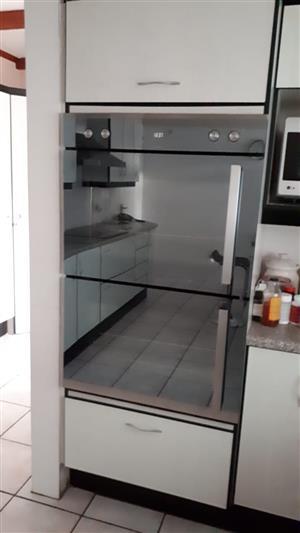 DEFY  Double door oven.