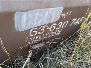 76 759 kg Derailed wagons - Bank Colliery - ON AUCTION