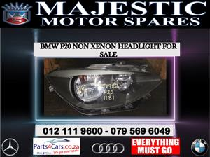Bmw F20 non xenon headlight for sale 2014