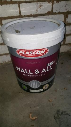 Plascon Wall and All - White Paint (20L)