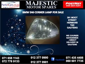 Bmw e46 corner lamps for sale
