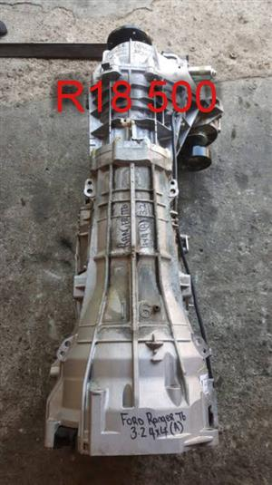 Ford Ranger T6 4x4 gearbox. R18500