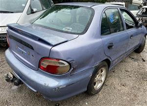 Hyundai Accent 1999 1.5lt Stripping for spares