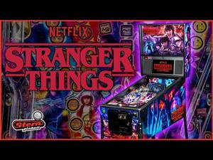 STRANGER THINGS LIMITED EDITION PINBALL MACHINE, AVAILABLE ON ORDER