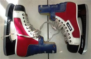 Ice Skates - Bauer Size 8 - made in Canada