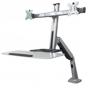 Manhattan Universal Sit and Stand Workstation