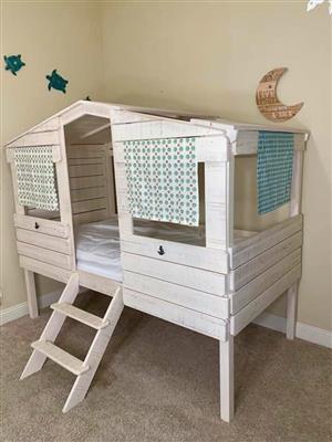 Used, Kids treehouse  loft  bed for sale  Boksburg