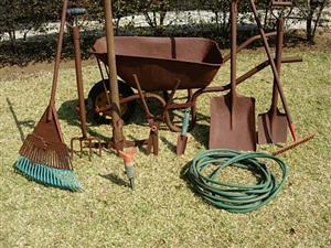 Garden Set of Tools - 12 Piece