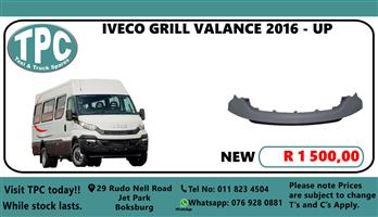 IVECO Grill Valance 2016 - Up - For Sale at TPC