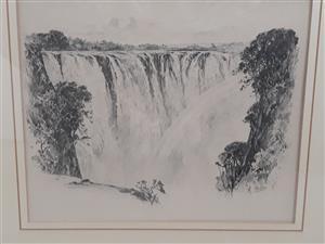Charles Ernest Peers pencil sketch