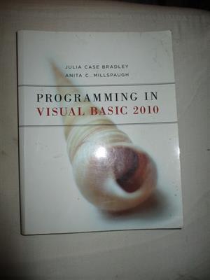 Progamming in Visual Basic 2010