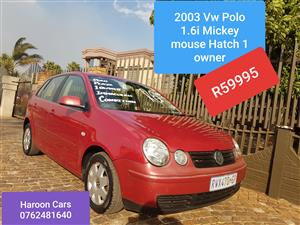 2003 VW Polo 1.6 Comfortline