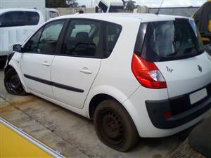 Renault Scenic LHS Rear Quarter Section