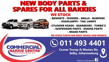 New Body Parts And Spares For All Bakkies