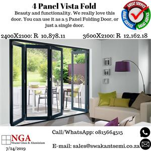3+1 Vista Fold Stacking Door