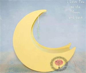 Yellow moon baby chair