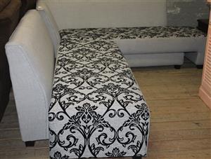 L-Shaped couch S030036A #Rosettenvillepawnshop