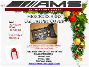 CHRISTMAS SPECIALS !!!! MERCEDES BENZ CGI TAPPET COVER FOR SALE