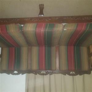 Antique Imbuia sofa lounge set