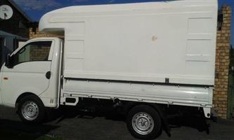 1.3 Ton Bakkies Required (High Volume Canopy) With Driver
