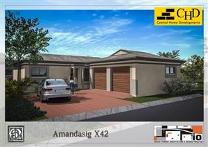 Newly built houses in the security estate for sale in Amandasig