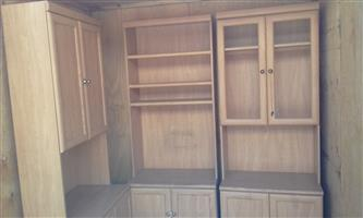 3 peice display and tv unit