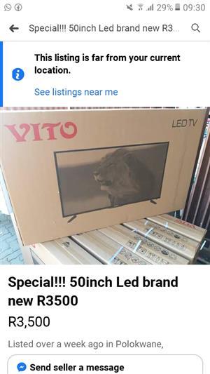 Vito TV 50 inch