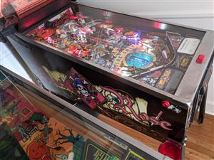 Black Rose pinball machine by Williams , available on order