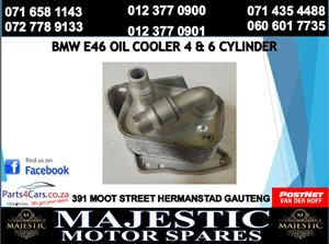 Bmw e46 oil cooler for sale