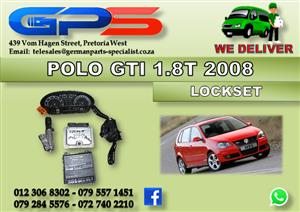 Used VW Polo Bujwa GTI 1.8T 2008 Lockset for Sale