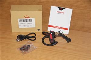 Teamyo Bluetooth earphones wireless. BRAND NEW