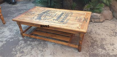 Jack Daniels Double Deck Coffee Table (1130x725x435)