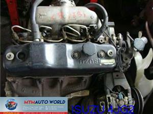 Imported used ISUZU RODEO/BIGHOEN 3.1L TURBO EFI, 4JG2 ENGINE Complete