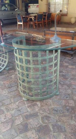 Bigger glass top table
